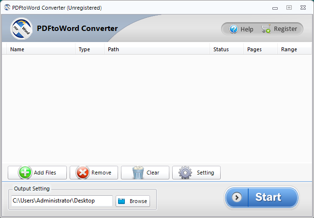 Convert PDF Files to Word Formats.