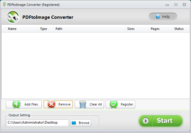 PDFtoImage Converter Review for Windows