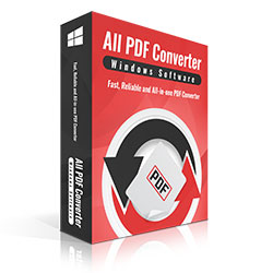 All PDF Converter software box