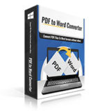 PDFtoWord Converter software box.