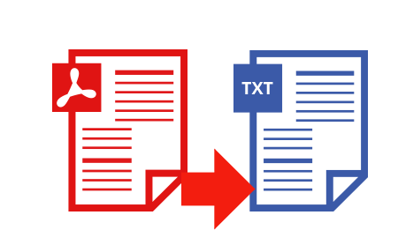 Convert PDF to text file without formatting changed.