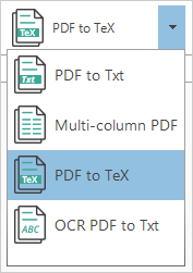 How to convert PDF to LaTeX without efforts and for free