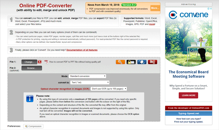 Top 10 Online PDF to TXT Converters in 2018 – PDFConverters